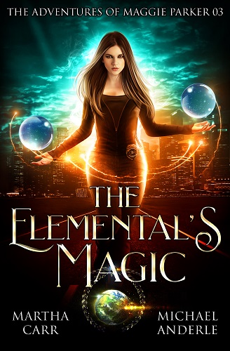 The Adventures of Maggie Parker Book 3: The Elemental's Magic