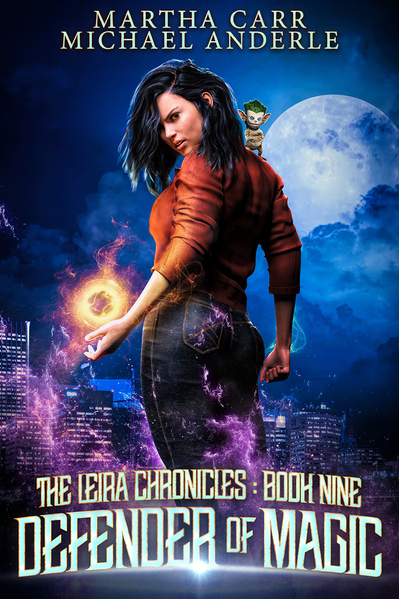 Leira Chronicles Book 9: Defender of Magic
