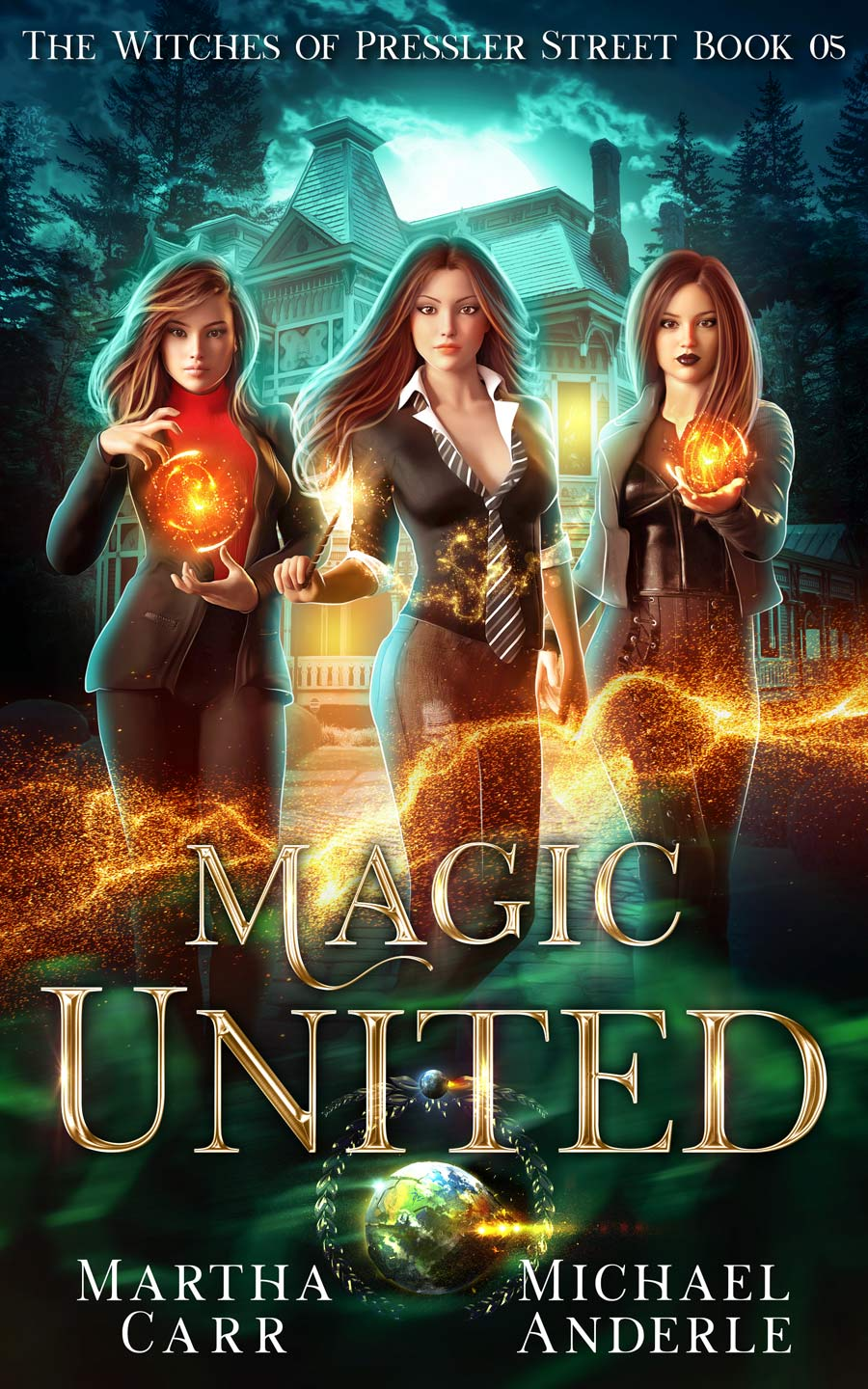 The Witches of Pressler Street Book 5: Magic United