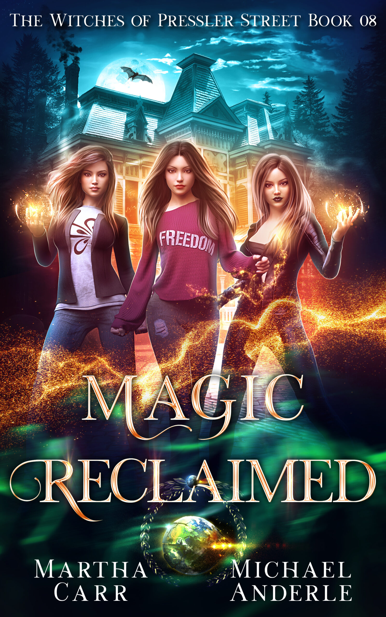 The Witches of Pressler Street Book 8: Magic Reclaimed