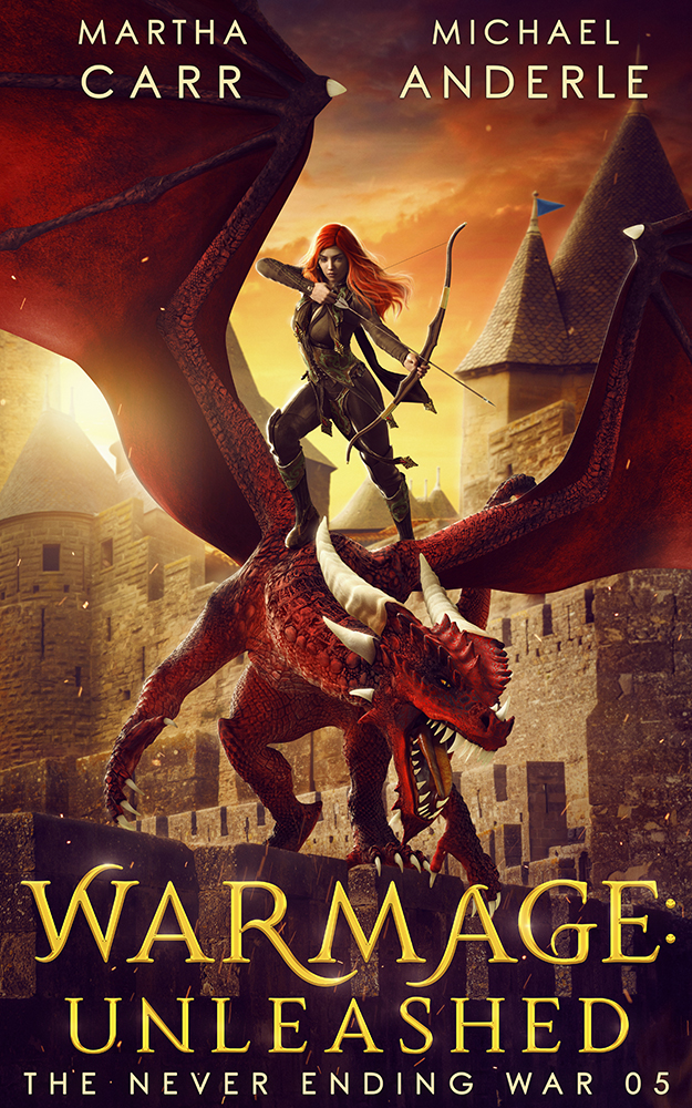 The Never Ending War Book 5: WarMage: Unleashed