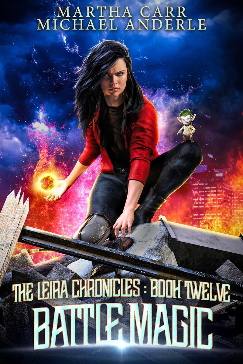 Leira Chronicles Book 12: Battle Magic