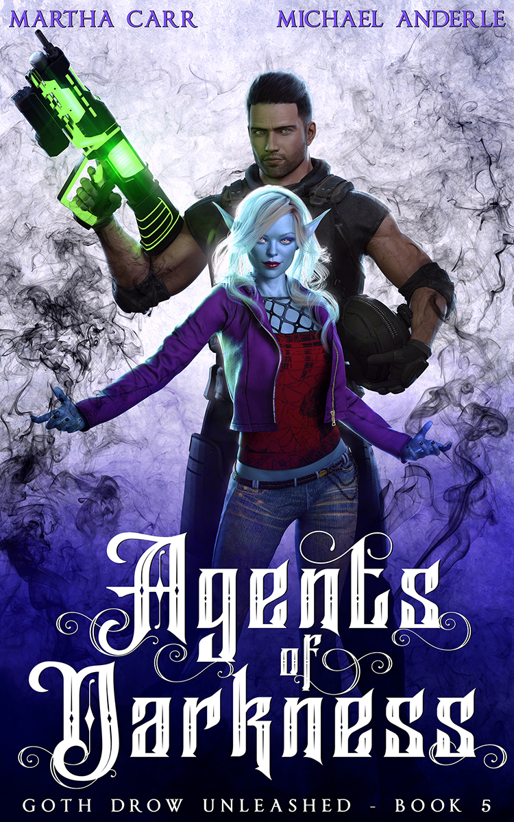 Goth Drow Unleashed Book 5: Agents of Darkness
