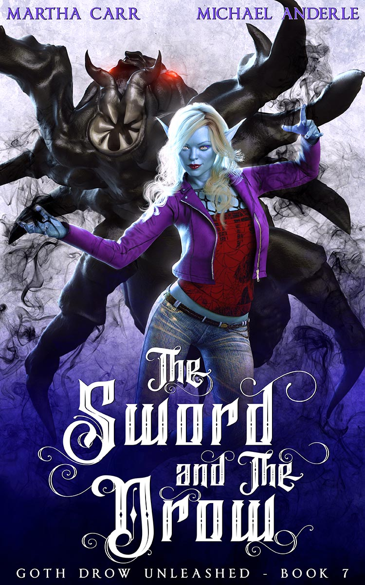 Goth Drow Unleashed Book 7: The Sword and The Drow