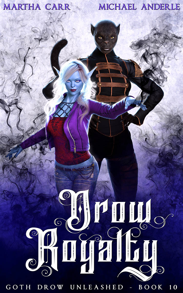 Goth Drow Unleashed Book 10: Drow Royalty