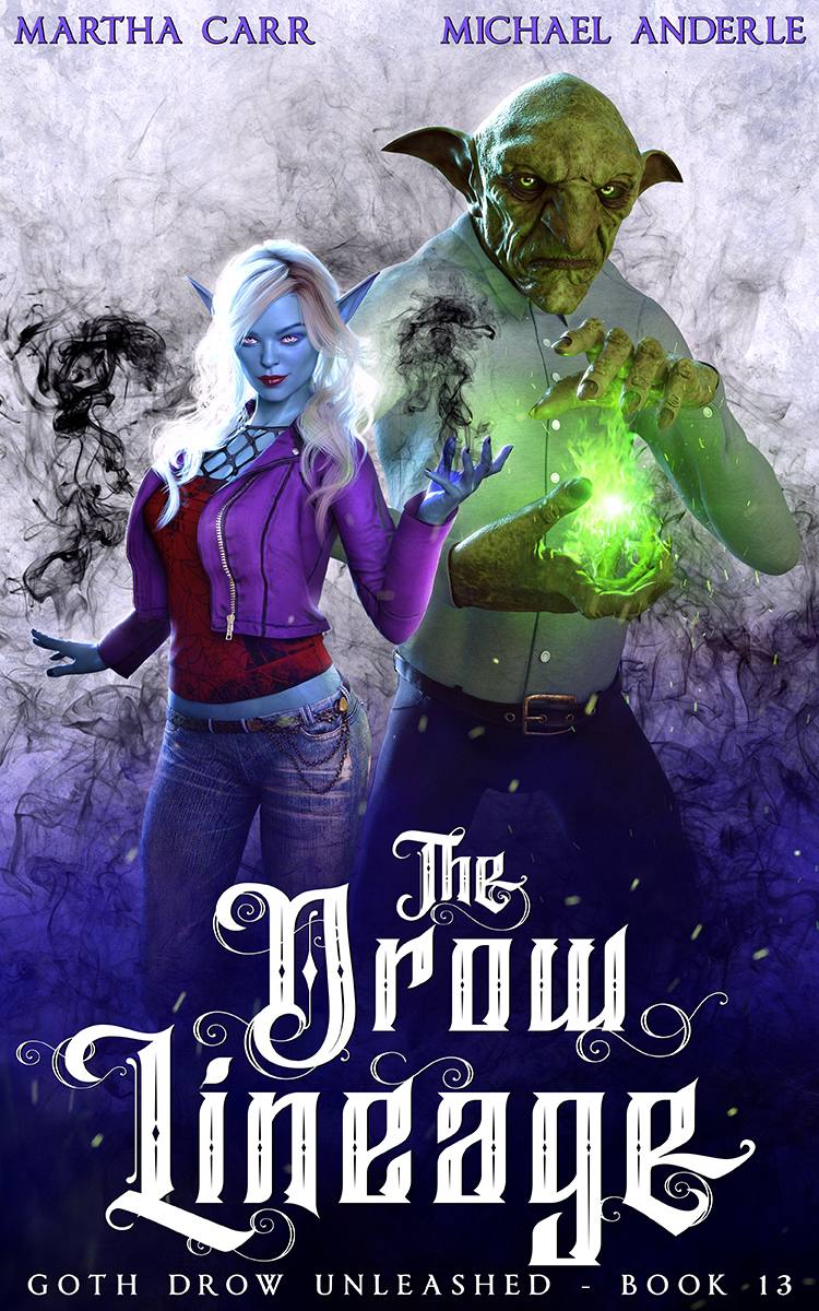 Goth Drow Unleashed Book 13: The Drow Lineage
