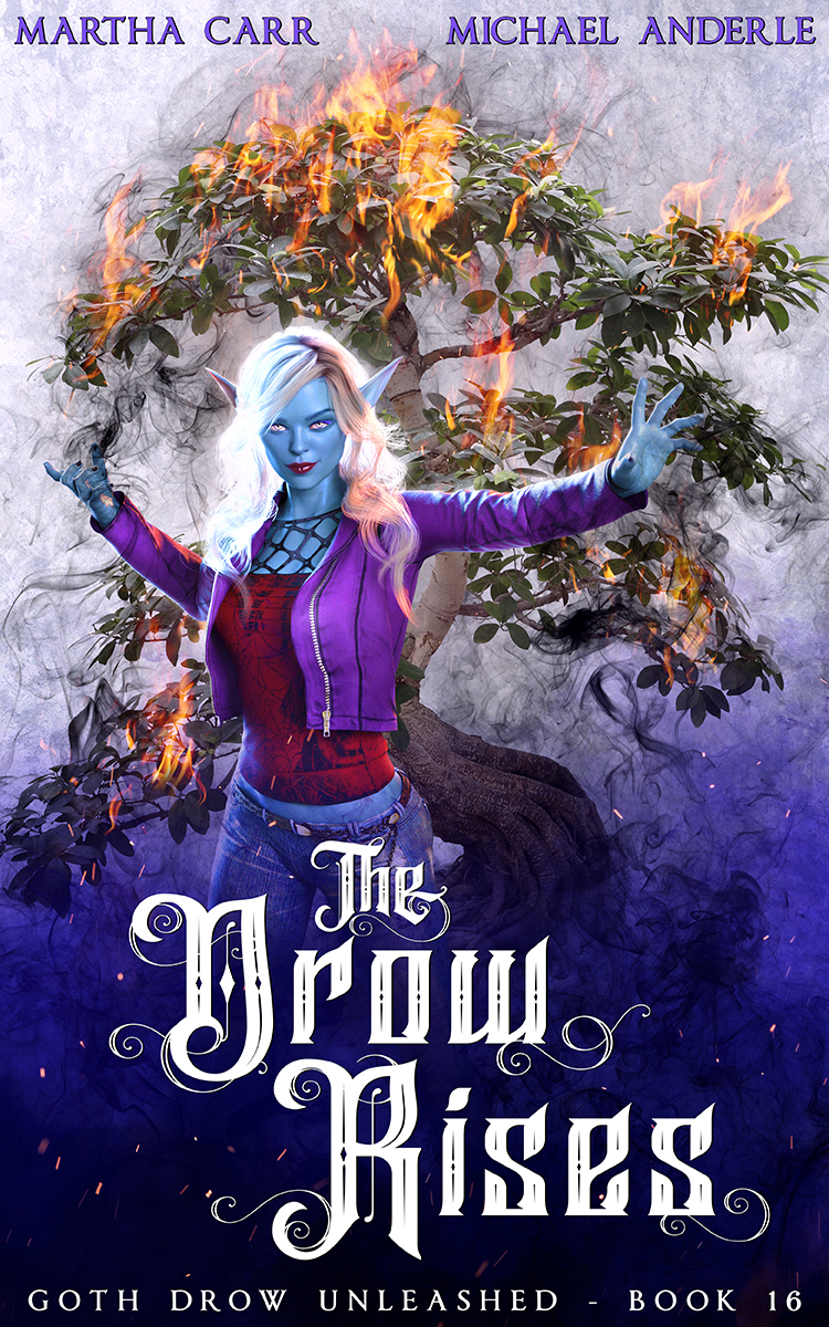 Goth Drow Unleashed Book 16: The Drow Rises