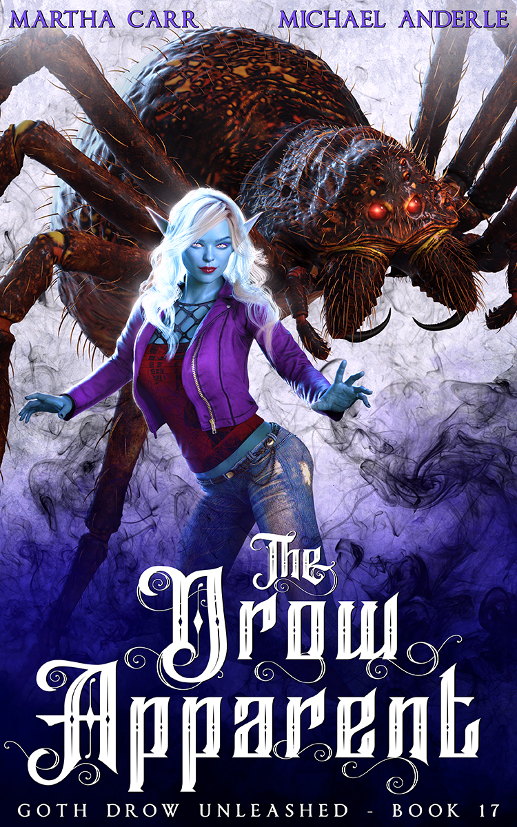 Goth Drow Unleashed Book 17: The Drow Apparent